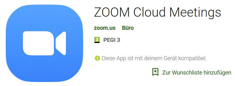 Seelenschimmer, Zoom